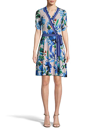 5twelve Floral Tie-Front Wrap Dress