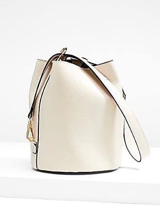 Simons Grained leather bucket bag
