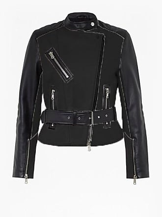 French Connection Adela Leather Biker Jacket