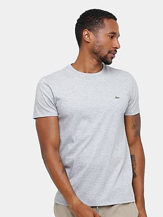 Lacoste Camiseta Lacoste Básica Jersey Masculina - Masculino 019c5fd4c2