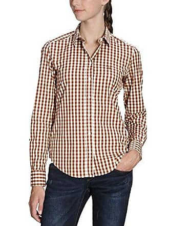 GANT Damen Regular Fit Bluse CO POP STRETCH BIG GINGHAM SHIRT b3aa5ccfe3
