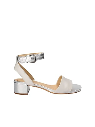 5dab05685aa3 Clarks Orabella Rose Leather Sandals in White Silver Standard Fit Size 3.5