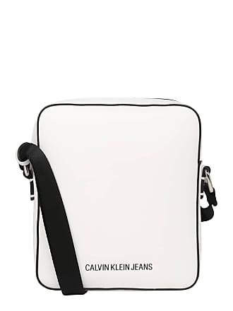 bbe92e193a8 Calvin Klein Jeans Schoudertas MICRO FLAT PACK zwart / wit