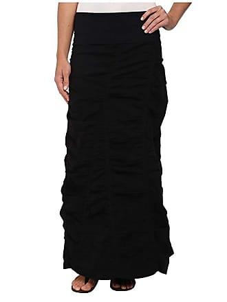 Xcvi Peasant Skirt (Black) Womens Skirt