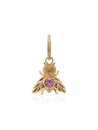 Yvonne Léon fly pendant 18K gold singular earring