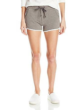Alternative Womens Vintage French Terry Track Short, Coal/White, S