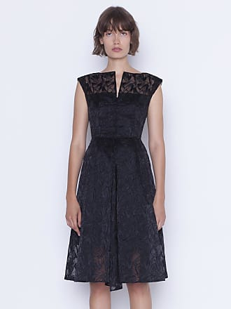 Akris Coat dress with St. Gallen embroidery