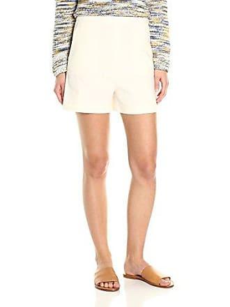 9689ba4454 Theory Womens Tarrytown New Stretch Shorts, Shell White, 00