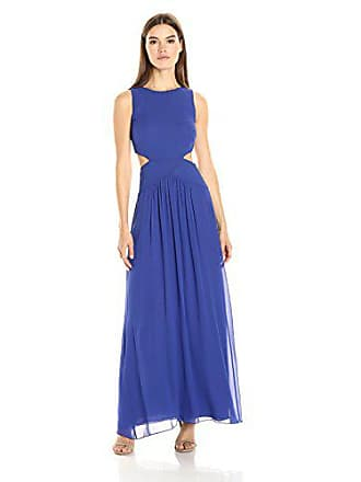 Nicole Miller Womens Queen of The Night Gown, Blueberry, 10