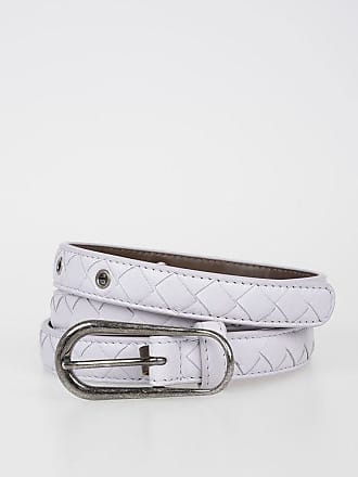 Bottega Veneta Leather Belt 2 CM size 95