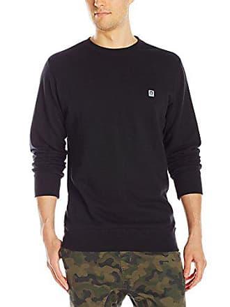 Obey Mens Eighty Nine Icon Crew Sweatshirt, Black, Large