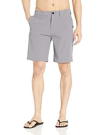 eb72cd8dec60f Quiksilver Mens Union Division Amphibian 20 Hybrid Short, Sleet 34