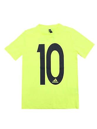 adidas Performance Camiseta adidas Menino Escrita Amarela