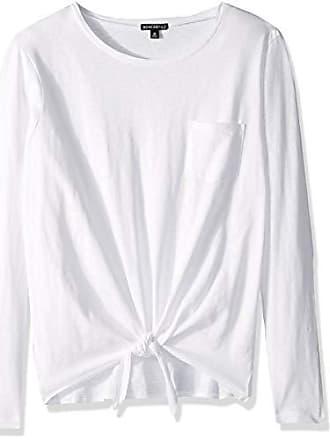 J.crew Womens Long-Sleeve Tie Waist T-Shirt, White, S