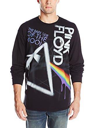 325a2c97 Liquid Blue Mens Pink Floyd Dark Side Graffiti Long Sleeve T-Shirt, Black,