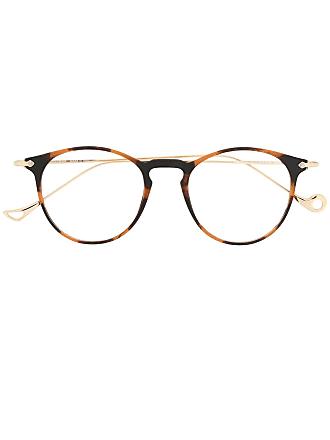 Eyepetizer Armação de óculos Wilson - Marrom