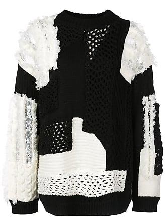 Koché Suéter de tricô - Preto