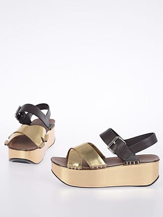38b0a8fcd4 Prada 5 cm Leather Sandals with Platform size 36,5