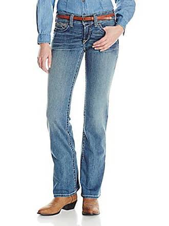 26e482de8d97 Ariat Womens R.E.A.L. Riding Mid Rise Boot Cut Jean