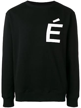 Études Studio logo print sweatshirt - Black
