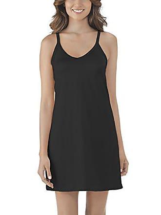 Vanity Fair Womens Spinslip 10158, Midnight Black, Size 36, 18 Inch