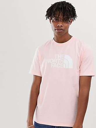 The North Face Half Dome Heavyweight t-shirt in pink - Pink