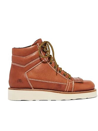 J.W.Anderson Leather Ankle Boots - Light brown