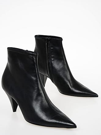 2c9339d05 Celine 8cm Nappa Leather Ankle Boots size 39