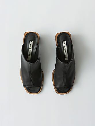 c7034a39ff4 Acne Studios FN-WN-SHOE000113 Noir noir Mules en cuir