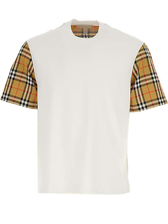 Burberry T-shirt Homme, Blanc, Coton, 2017, 38 40 44 M 9f1d17d4bc9