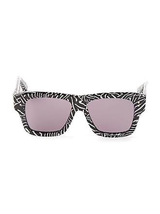 Dita Eyewear Óculos de sol wayfarer - Preto