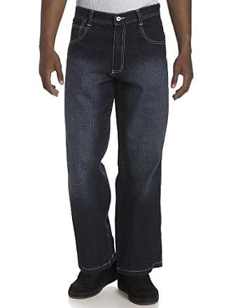 Southpole Mens Relaxed Fit Core Jean, Dark Sand Blue, 32X30