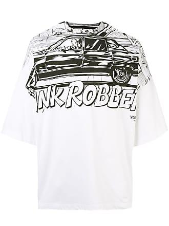 Yoshiokubo oversized ROBBERY T-shirt - White