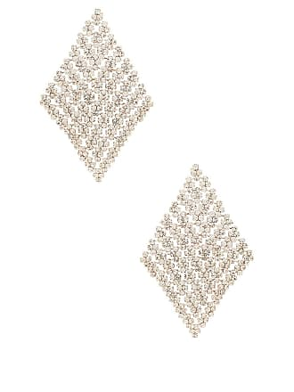 8 Other Reasons Pave Earring in Metallic Silver