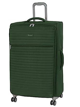 IT Luggage 31.3 Quilte Lightweight Spinner, Green Khaki