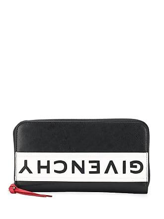 a4a60fabd5 Givenchy Portafoglio con zip e logo capovolto - Di Colore Nero