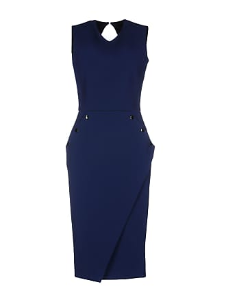 a87138cc03d Robes Fourreau Bleu Foncé   Achetez jusqu  à −58%