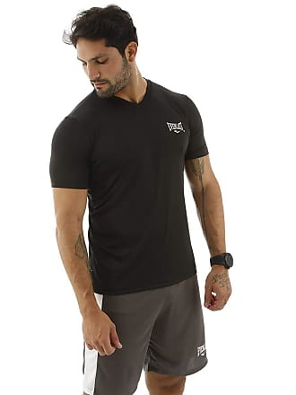 69e53fe617 Everlast Camiseta Dry Everlast Gola V Preto