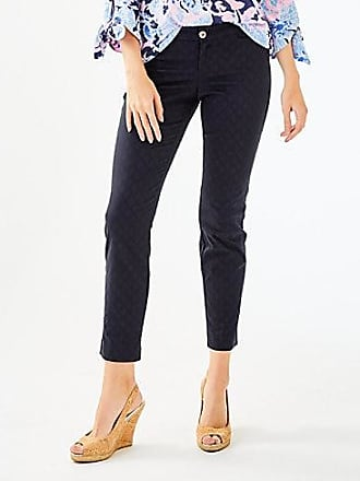 Lilly Pulitzer Lilly Pulitzer Womens 29 Kelly Textured Ankle Length Skinny Pant