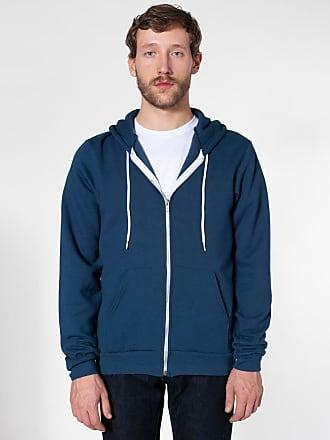 American Apparel Zip Hoodie UNISEX Flex Fleece Hooded Sweatshirt XS-2XL F497