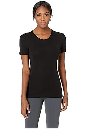 Icebreaker 175 Everyday Merino Baselayer Short Sleeve Crewe (Black) Womens Clothing