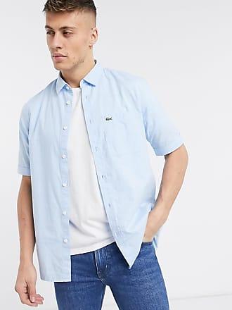 Lacoste short sleeve shirt-Blue