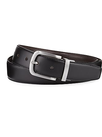 e35c79a739 Cole Haan Mens Feather-Edge Reversible Leather Belt
