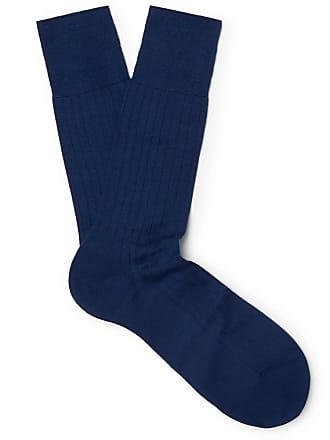 Falke No. 2 Cashmere-blend Socks - Royal blue