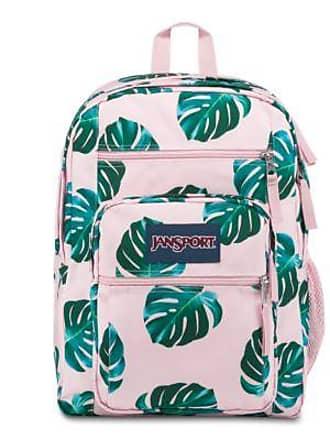 Jansport Big Student Backpacks - Monstera Palm Leaves