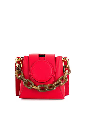 Yuzefi chain handle mini tote bag - Vermelho