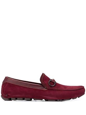 Salvatore Ferragamo Antigua driving loafers - Red
