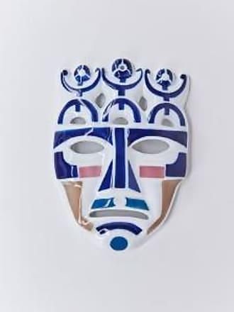Sargadelos Careta Maske N 4 - Blue/White/Pink