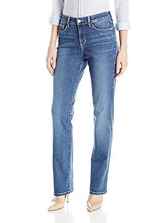 NYDJ Womens Marilyn Straight Leg Denim Jeans, New Heyburn, 2