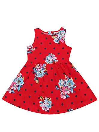 Rovitex Vestido Rovitex Floral Vermelho
